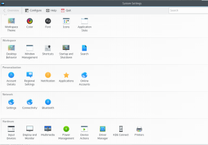 """Note """"Driver Management"""" icon in hardware section."""